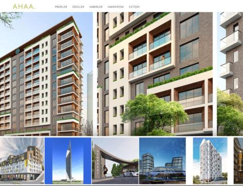 AHAA Design Mimarlık Web Site Tasarımı