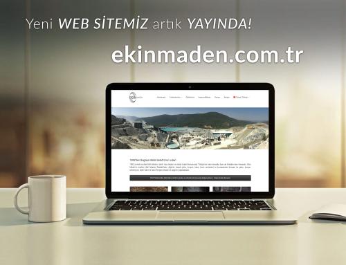 Ekin Maden Website Tasarımı