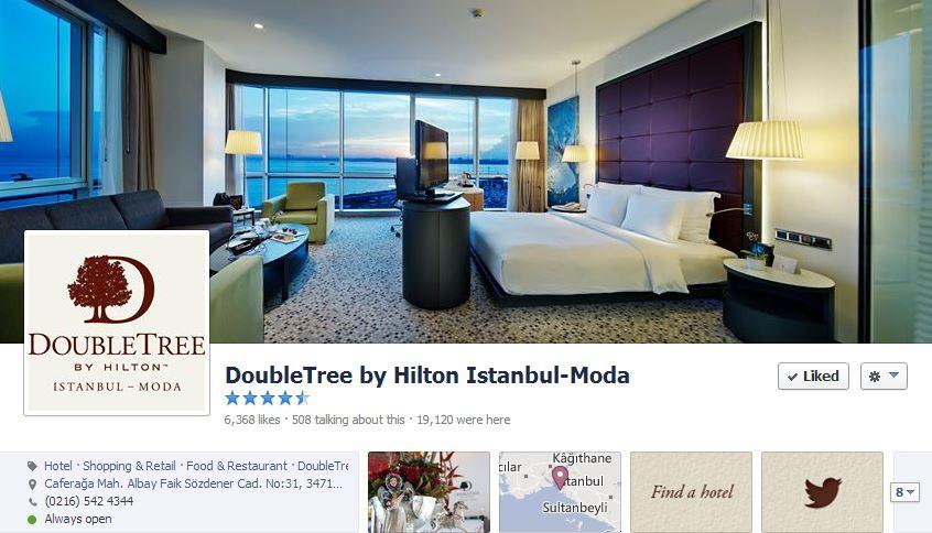 Sosyal Medya Yönetimi – DoubleTree by Hilton Istanbul Moda